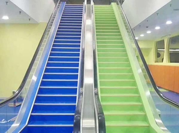 整体楼梯踏步效果展示