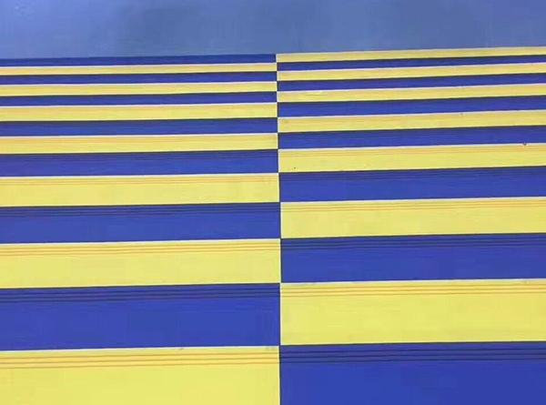 彩色整体楼梯踏步效果展示